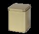 Envase metálico dorado de 200 gr