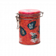 Latita metálica redonda decorada Té 600 gr - Flavour