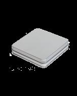 Caja metálica plana