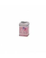 Envase metálica decorada Té 25 gr - Amor