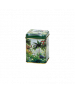 Envase metálica decorada Té 50 gr - Rain Forest
