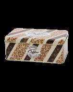 Lata metálica rectangular para galletas - Freshly roasted
