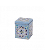 Latita metálica decorada Té 25 gr - Maroc