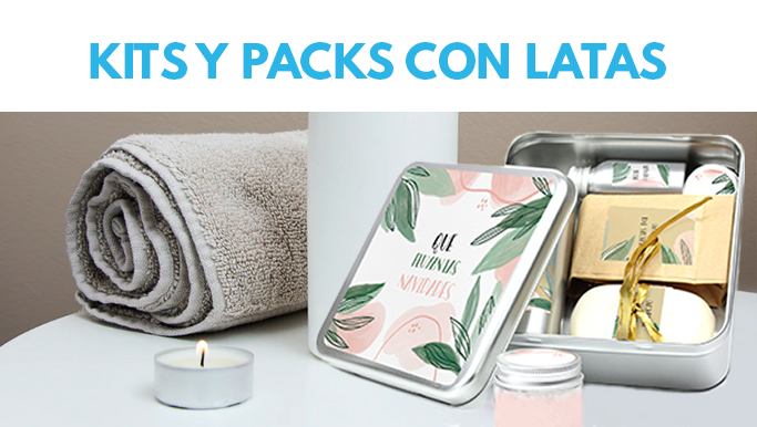 KITS Y PACK CON LATA