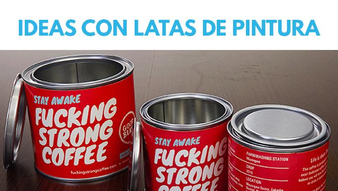 Usos originales de lata de pintura