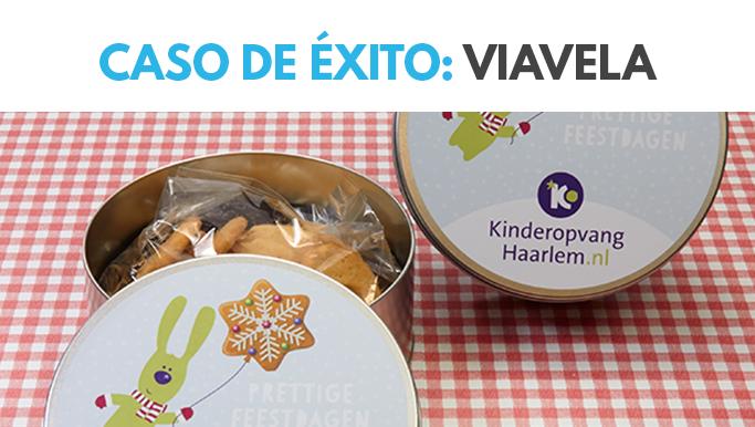 Cajas de galletas para ViaVela