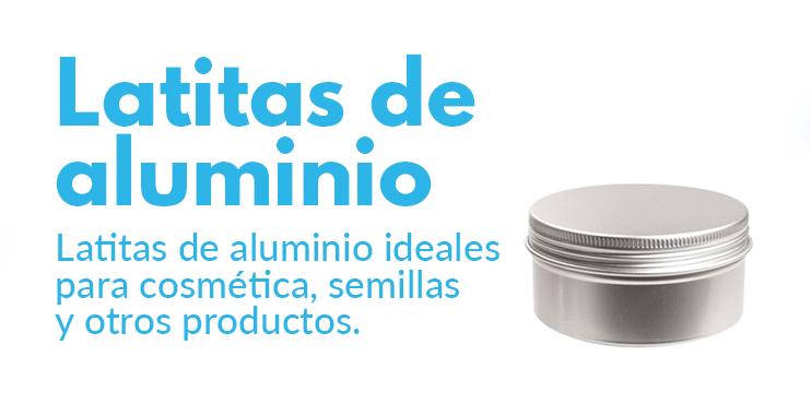 comprar latitas de aluminio