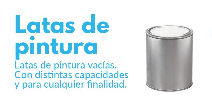 comprar latas de pintura